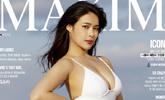 '미스맥심' 우승자 이수미, 치명적 수영복 표지