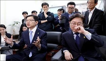 '드루킹 불똥' 지방선거로 번지나…여권 '불길차단' 총력