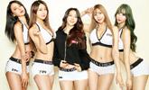 TFC 메인호스트 김라라…TFC걸과 화끈 콜라보