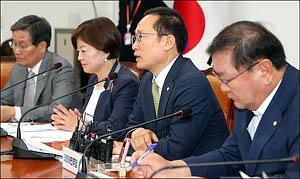 """홍영표 """"한국당, 국회정상화 협조해야"""""""