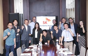 SK(주) 그랩·투로·쏘카 등 모빌리티 선도기업들과 사업확장 논의