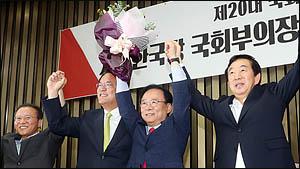 이주영, 4전5기끝에 한국당 국회 부의장 후보 선출