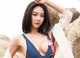양양 비치 달군 홍다현, 꽂히는 비키니 앞태
