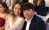 류현진-배지현, 다저스 행사 참석 '감탄 나오는 각선미'
