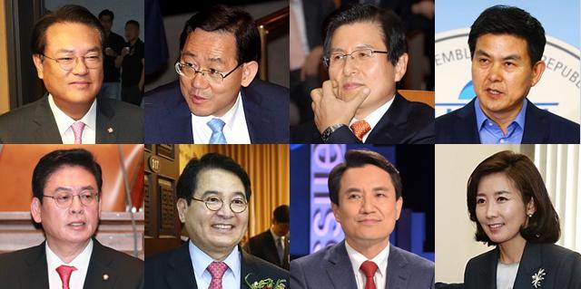 [5대문파 격돌임박-1]…자유한국당 원내대표·당권 향배는?