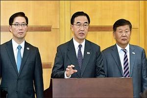 탈북 기자 취재 제한…기자단