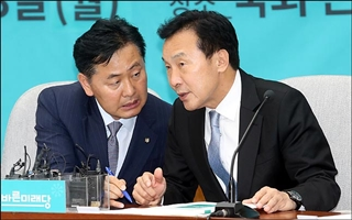 손학규·김관영 투톱…한국당 '공조'와 '거리두기' 사이